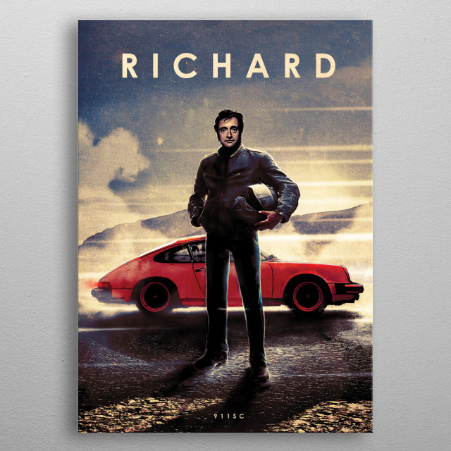 Richard metal poster