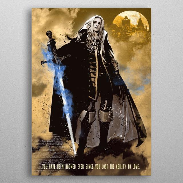 Alucard metal poster