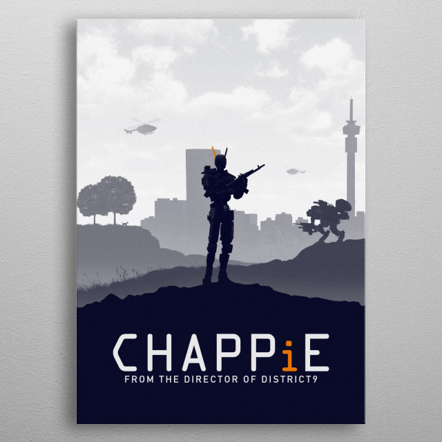 Chappie metal poster