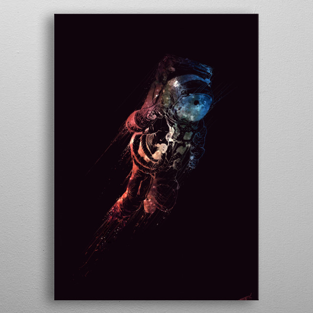 Fascinating metal poster designed by Musenyo. Displate has a unique signature and hologram on the back to add authenticity to each design. metal poster