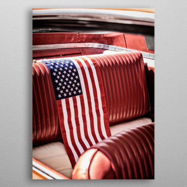 Stars And Stripes metal poster