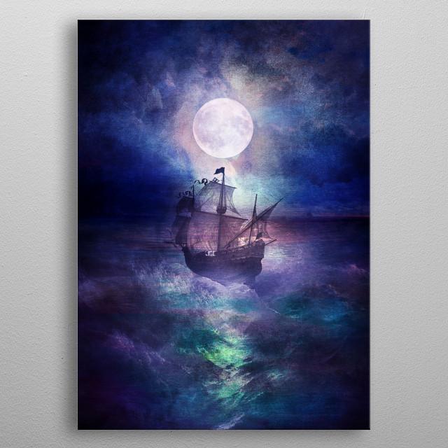 BLUE TRIP metal poster
