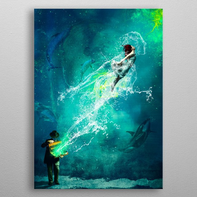 This marvelous metal poster designed by nakedmonkey to add authenticity to your place. Display your passion to the whole world. metal poster