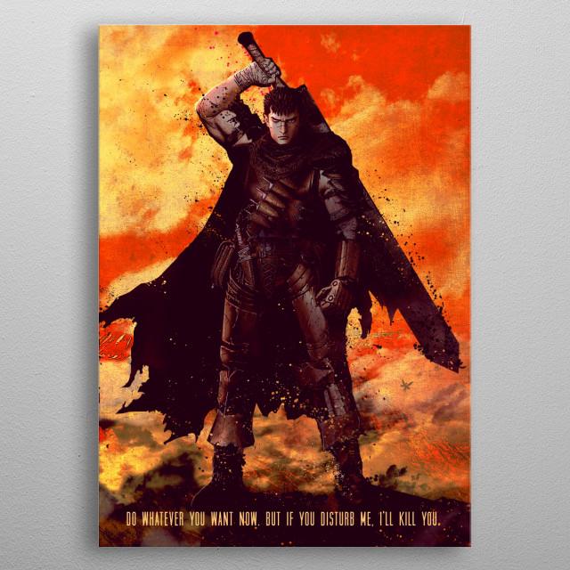 Berserker metal poster