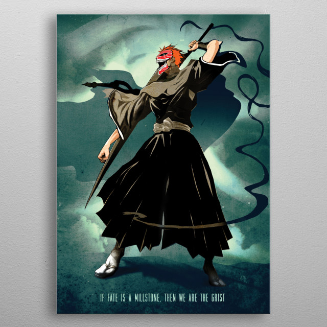 Spirit Warrior metal poster