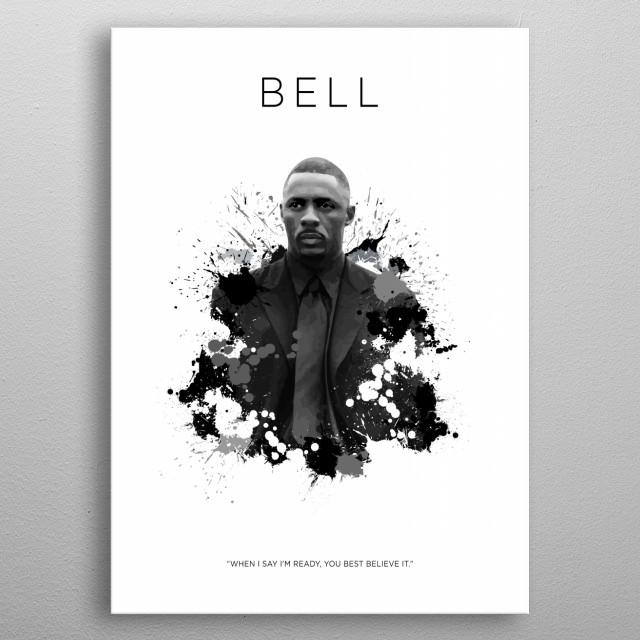 Stringer Bell by KOO CONCEPT | metal posters - Displate
