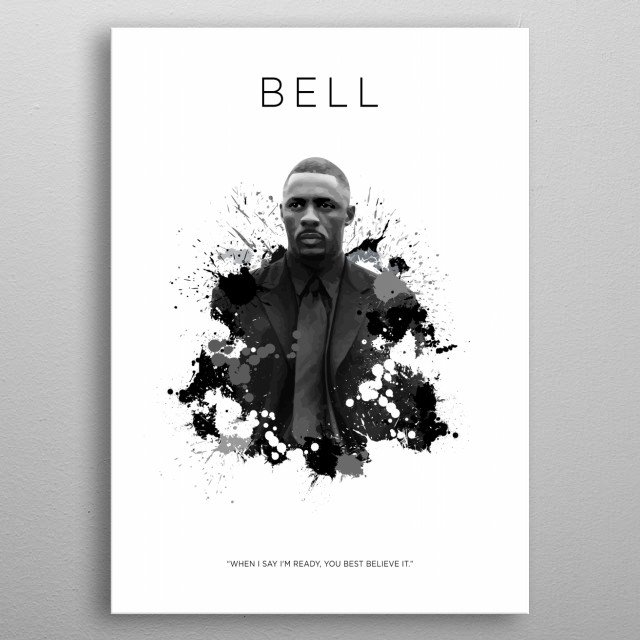 Fascinating metal poster designed by KOO CONCEPT. Displate has a unique signature and hologram on the back to add authenticity to each design. metal poster