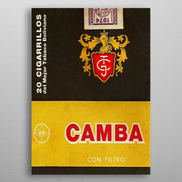 Camba metal poster