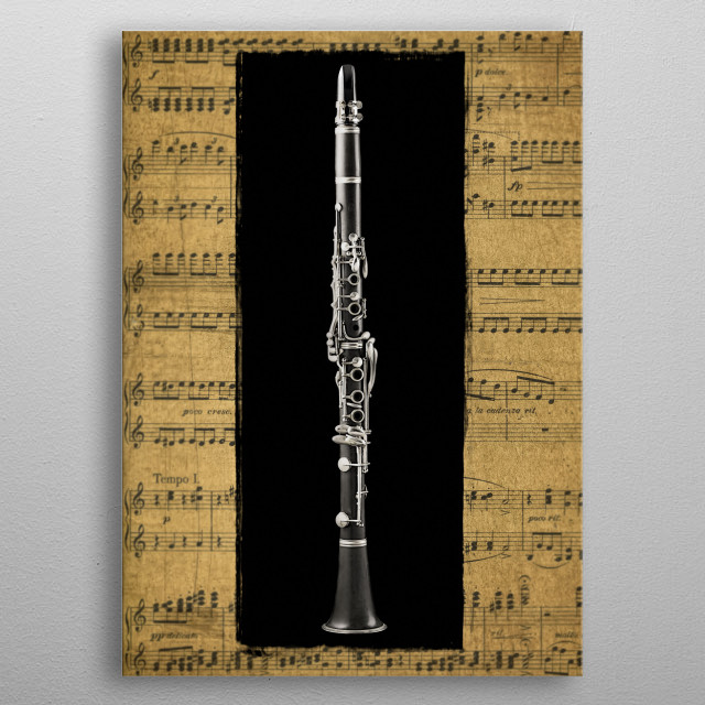 High-quality metal print from amazing Musical Instruments collection will bring unique style to your space and will show off your personality. metal poster