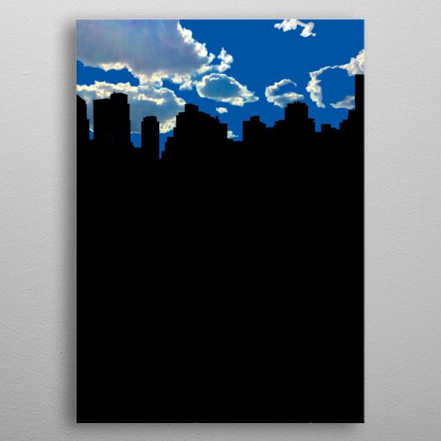 NYC metal poster