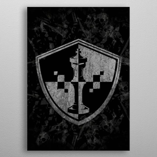 the king metal poster
