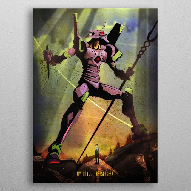 High-quality metal print from amazing Anime Society collection will bring unique style to your space and will show off your personality. metal poster