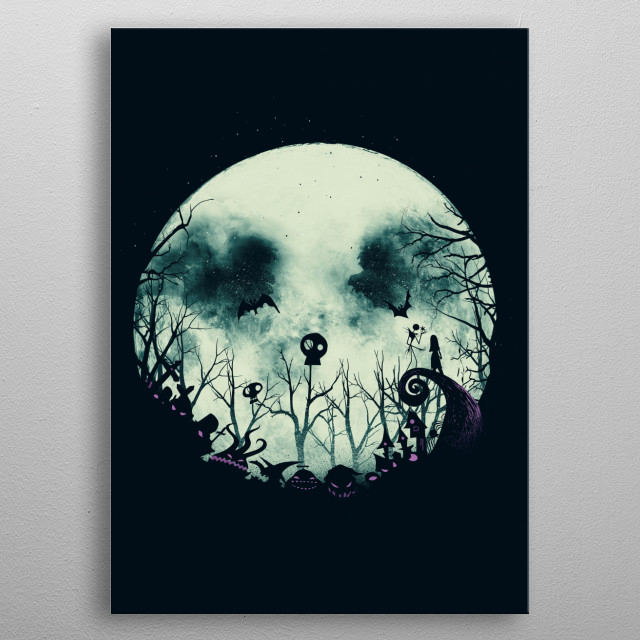 High-quality metal print from amazing Pop Culture collection will bring unique style to your space and will show off your personality. metal poster