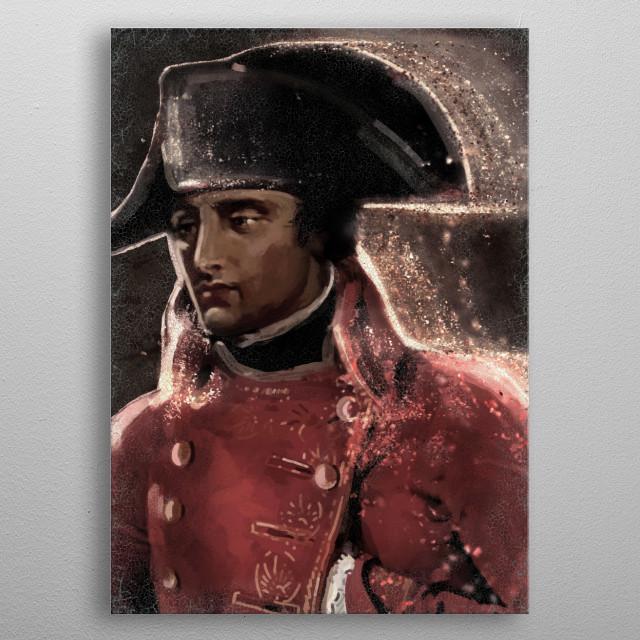 Napoleón Bonaparte metal poster
