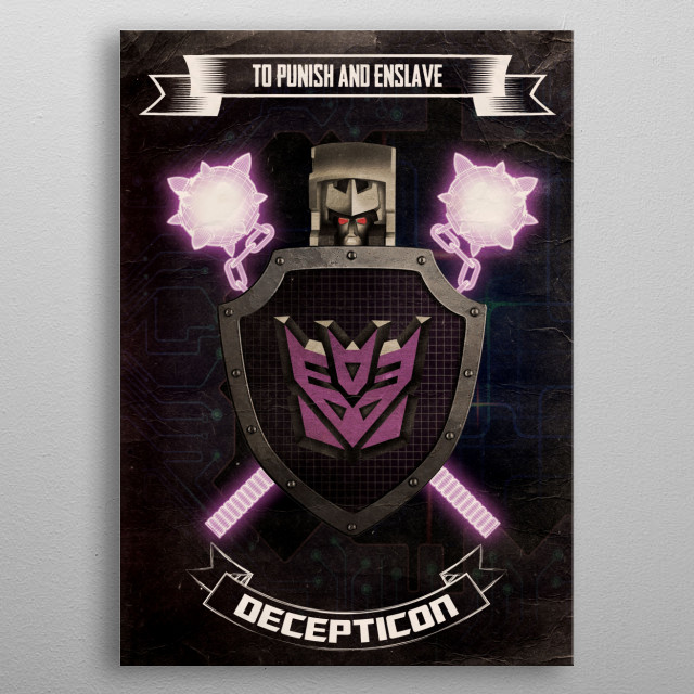 High-quality metal print from amazing Fantasy Coats Of Arms collection will bring unique style to your space and will show off your personality. metal poster