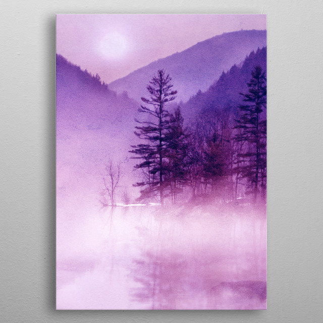 High-quality metal print from amazing Magical Places collection will bring unique style to your space and will show off your personality. metal poster
