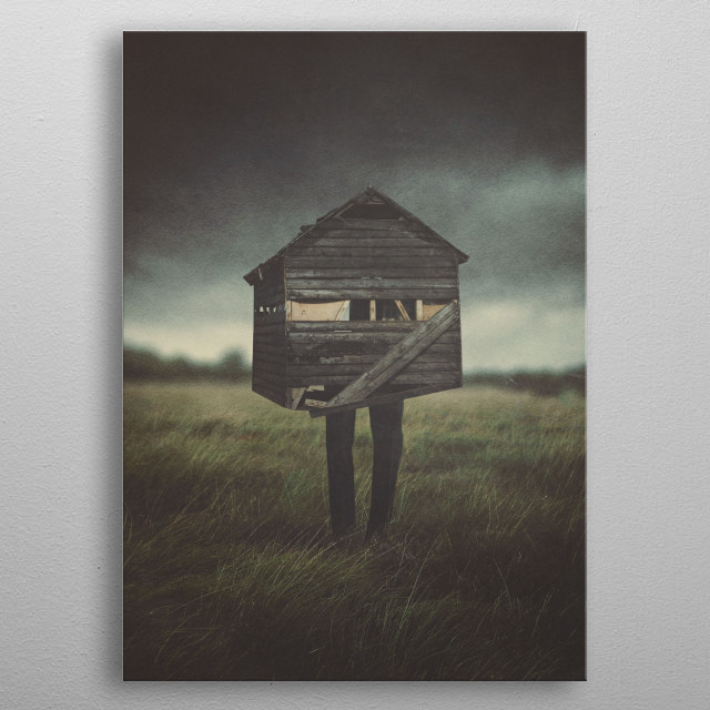 High-quality metal print from amazing Surreal Thoughts collection will bring unique style to your space and will show off your personality. metal poster