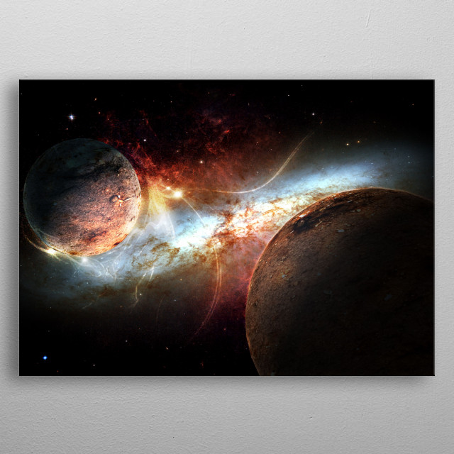This marvelous metal poster designed by carlosalves to add authenticity to your place. Display your passion to the whole world. metal poster