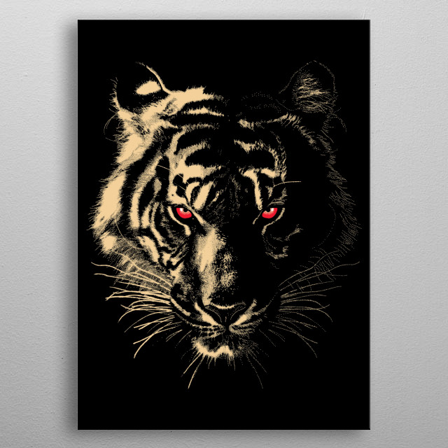 Story Of The Tiger metal poster