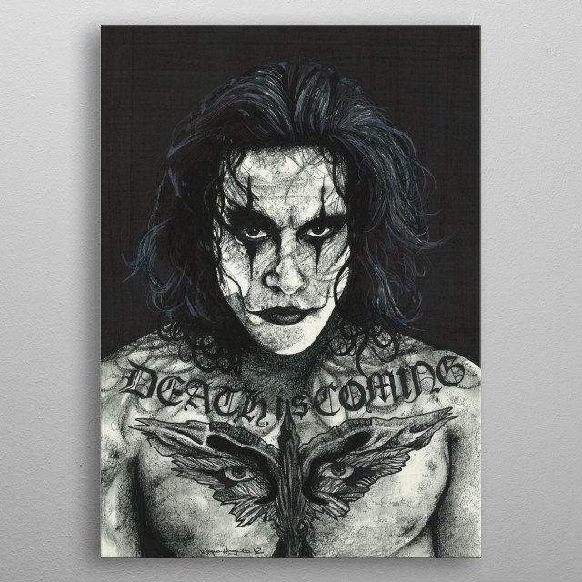 Fascinating  metal poster designed with love by inkedikons. Decorate your space with this design & find daily inspiration in it. metal poster