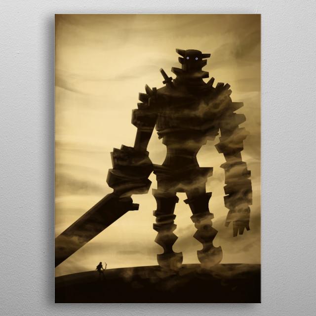 Gaius metal poster