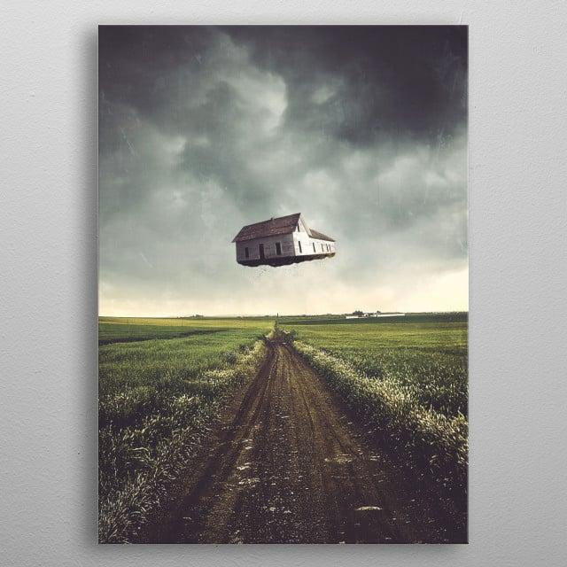 A Traveler's Dream metal poster