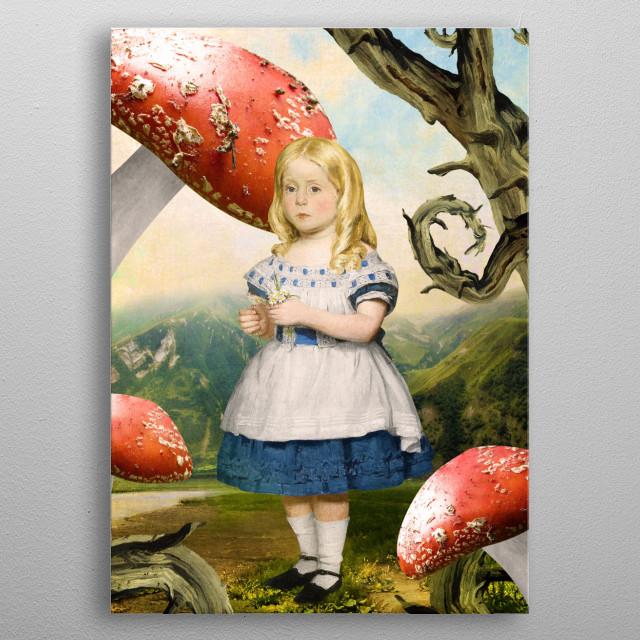 Alice metal poster