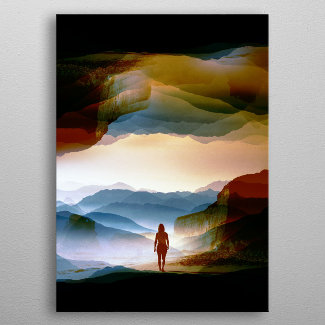This marvelous metal poster designed by stohitrov to add authenticity to your place. Display your passion to the whole world. metal poster