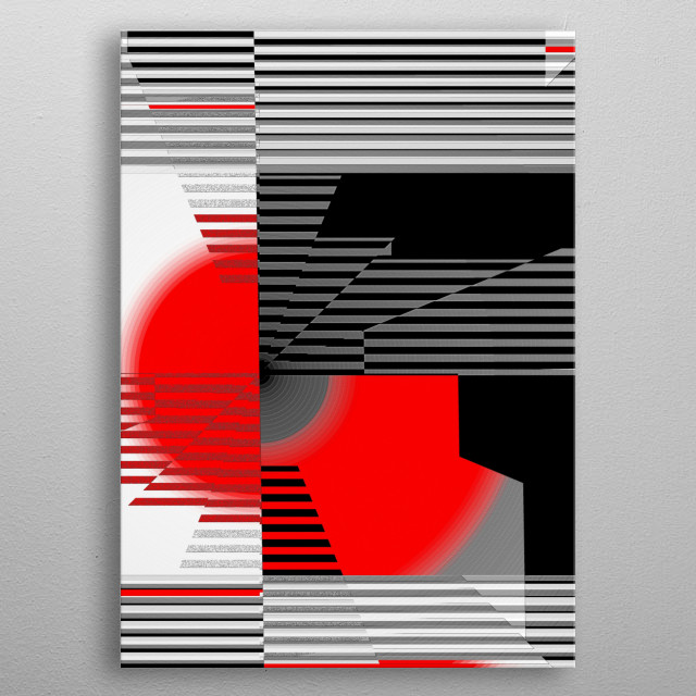 Fascinating  metal poster designed with love by tutti. Decorate your space with this design & find daily inspiration in it. metal poster