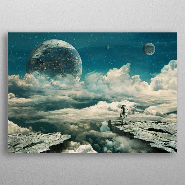 The explorer metal poster