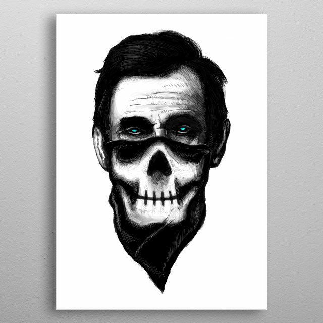 "Lincoln ""The Outlaw"" metal poster"