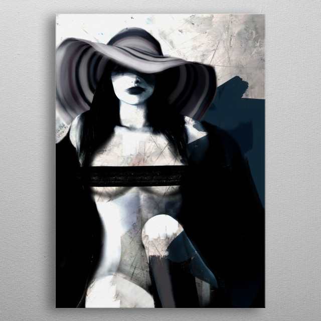 This marvelous metal poster designed by dmalta to add authenticity to your place. Display your passion to the whole world. metal poster