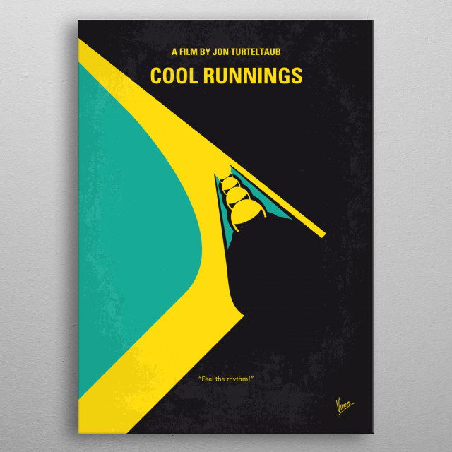When a Jamaican sprinter is disqualified to the Olympic Games, he enlists the help of a dishonored coach to start the first Jamaican Bobsled Team.  Director: Jon Turteltaub Stars: John Candy, Leon, Doug E. Doug  metal poster