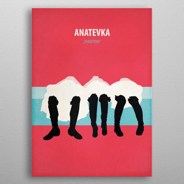 Anatevka metal poster