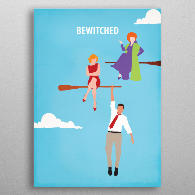 Bewitched metal poster