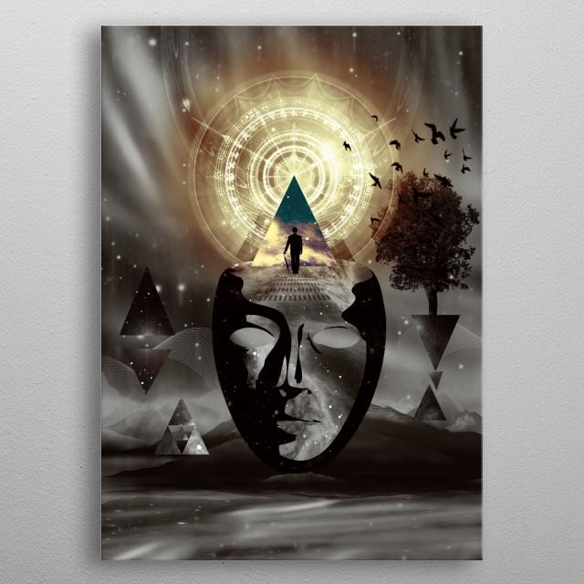 Lost In Myself metal poster