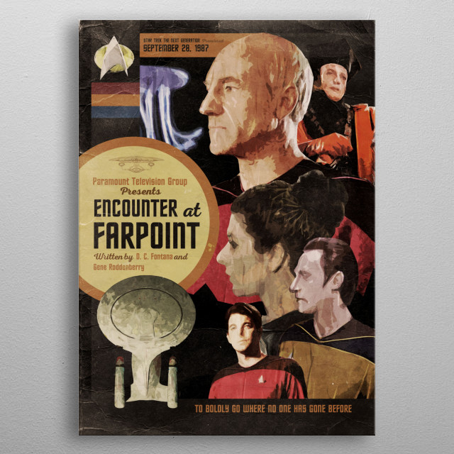 Farpoint metal poster