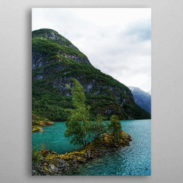 The beauty of Norway metal poster