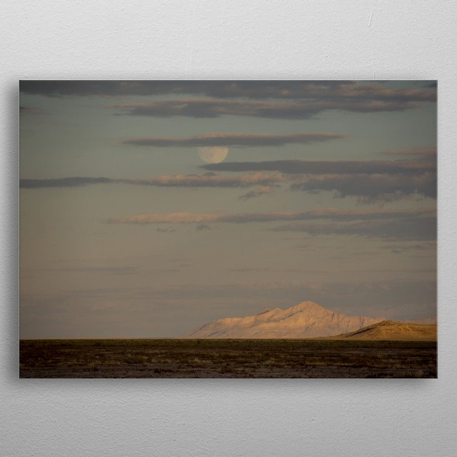 High-quality metal print from amazing Landscapes collection will bring unique style to your space and will show off your personality. metal poster