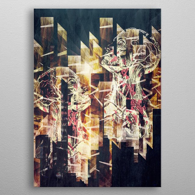 High-quality metal print from amazing Artwork collection will bring unique style to your space and will show off your personality. metal poster