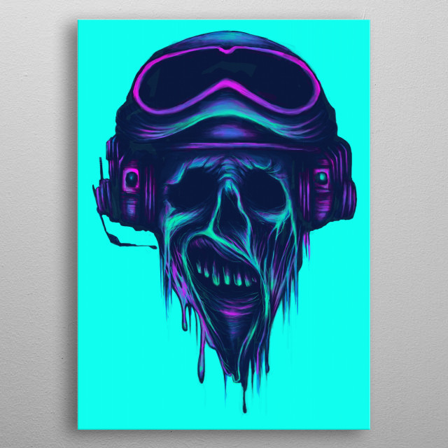 Zombie-The Navigator metal poster