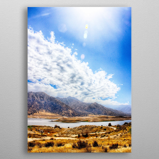 High-quality metal print from amazing California Dream collection will bring unique style to your space and will show off your personality. metal poster