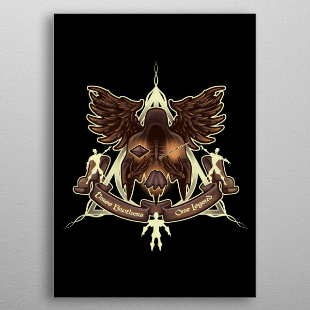 Fascinating metal poster designed by Q Artwork. Displate has a unique signature and hologram on the back to add authenticity to each design. metal poster