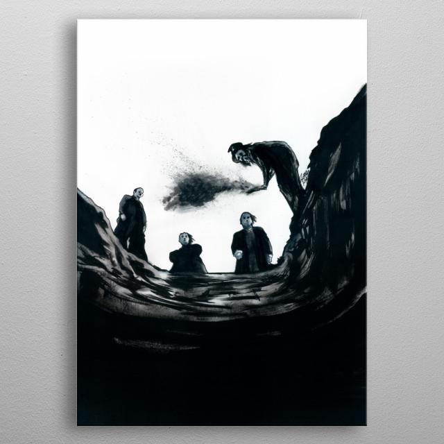 The Saddest Ditch metal poster