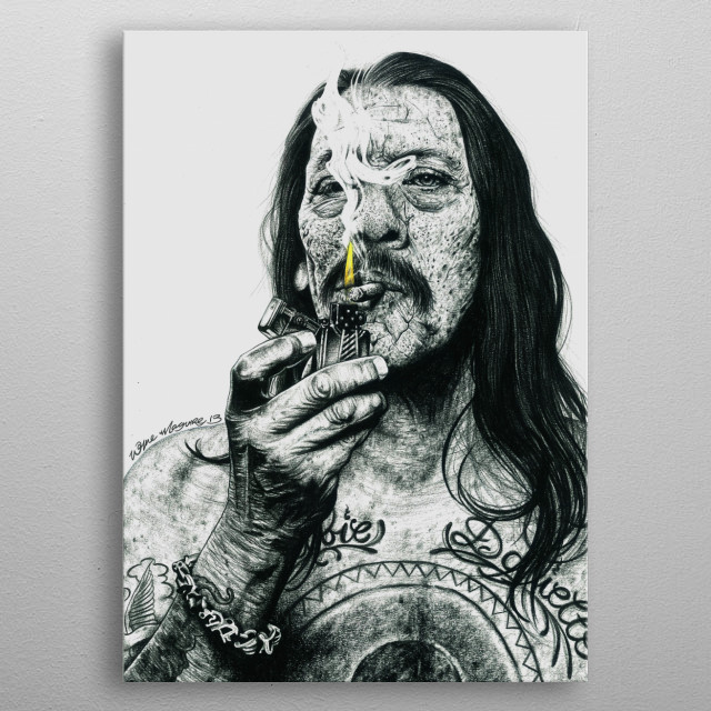 MACHETE metal poster