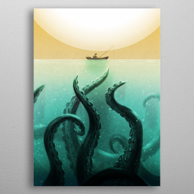 High-quality metal print from amazing Creative Concepts collection will bring unique style to your space and will show off your personality. metal poster