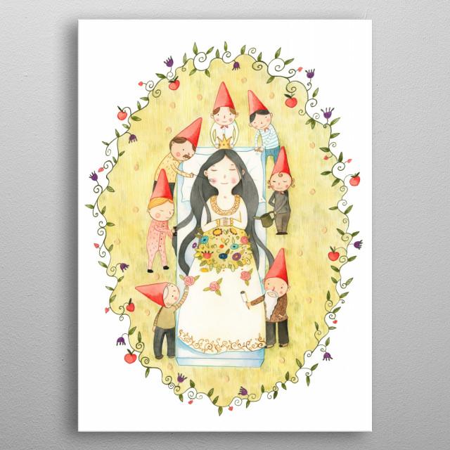 Snow White metal poster