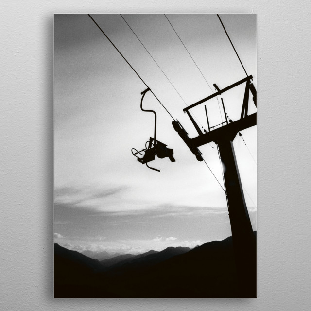 High-quality metal print from amazing Heimat collection will bring unique style to your space and will show off your personality. metal poster