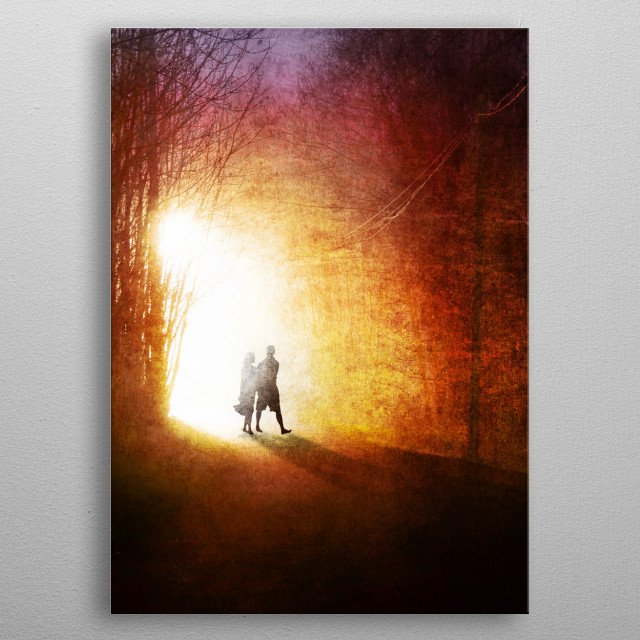 A Walk to Remember metal poster
