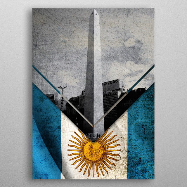This marvelous metal poster designed by alegomez to add authenticity to your place. Display your passion to the whole world. metal poster